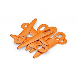B-Ware: STIHL Kunststoffmessersatz für PolyCut (8 Stück)