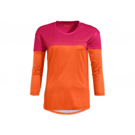 B-Ware: Vaude Moab LS V T-Shirt Damen (tangerine orange), Größe 42/L