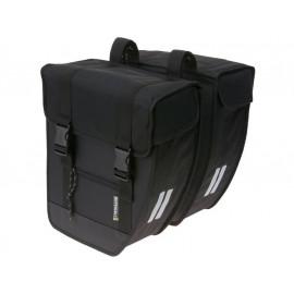 B-Ware: Basil Tour XL Doppeltasche (40 Liter - schwarz)