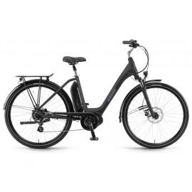 B-Ware: Winora Sima 7 (400Wh) City E-Bike Monotube (schwarz), Rahmen 46cm
