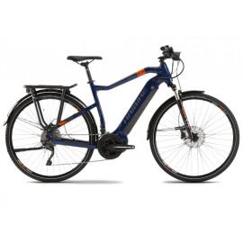 B-Ware: Haibike SDURO Trekking 5.0 YSTM (500Wh) E-Bike Herren, R: 64cm, bl/or/gr