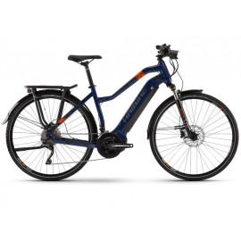 B-Ware: Haibike SDURO Trekking 5.0 YSTM (500Wh) E-Bike Damen, R: 56cm, bl/or/gr
