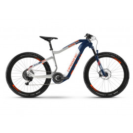 B-Ware: Haibike XDURO AllTrail 5.0 (i630Wh) E-Bike, R: 50cm, bl/we/or