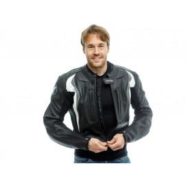 Restposten: BMW Start Motorradjacke Herren (schwarz/grau), Größe 50