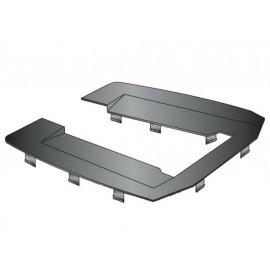 B-Ware: Hepco & Becker Kunststoff-Abdeckplatte für Alu Rack