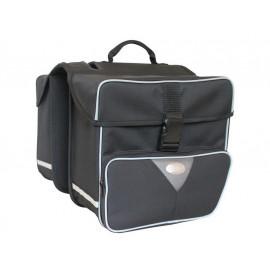 Gebrauchtware: Haberland Doppeltasche groß (31 Liter / Schwarz)