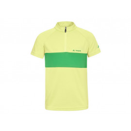 B-Ware: Vaude: Kids Grody Shirt II soft yellow Radtrikot, Größe 122-128