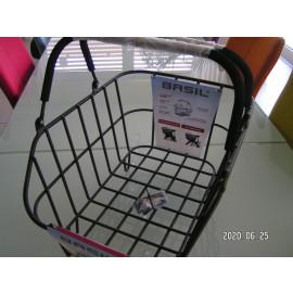 B-Ware:  Basil Cento Alu Multi System Fahrradkorb, schwarz