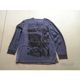 B-Ware: BMW Original T-Shirt Vintage, Trouble Shooter, XL, langarm, blau, regular fit