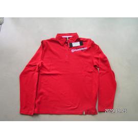 B-Ware: Husqvarna Poloshirt, langarm, rot, Racing, Herren, Größe XL