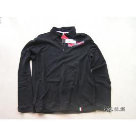 B-Ware: Husqvarna Poloshirt, langarm, schwarz , Racing, Herren, Größe XL