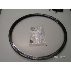 B-Ware: DT Swiss Felge GR531db, schwarz, 32 Loch, 584x24, ERD 556mm inch washer