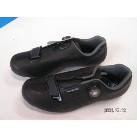 B-Ware: Shimano SH-RP501 Rennrad Schuhe, Größe 45, schwarz