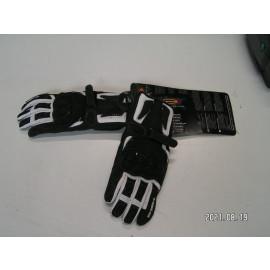Restposten: Held Myra Damen Motorrad Handschuh, Größe 7, schwarz/weiß