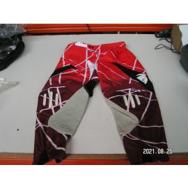 Restposten: Thor S11 Flux Lazer Motocross Hose, Größe 34, rot/weiß