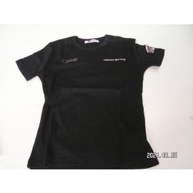 Restposten: Honda Damen Gas Doll Mylar T-Shirt, schwarz, Größe L