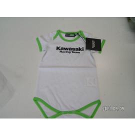 Restposten: Kawasaki Strampler Racing Team Kids, Größe 92, weiß