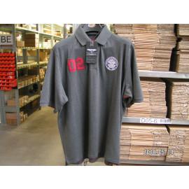 B-Ware: Original Triumph 02 Polo Shirt Herren, grau, Größe S