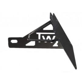 Restposten: Genscher Seitlicher Kennzeichenhalter Triumph Amerika/Speedmaster (180mm schwarz)